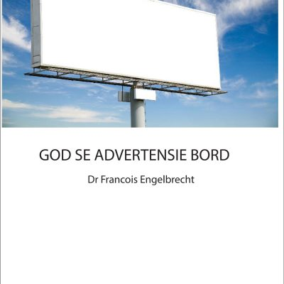 God se advertensie bord